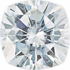 1.70 Ct Forever One Moissanite Loose Stone Cushion Cut  Antique Square 7 mm