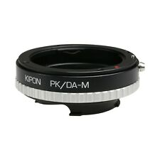 Kipon Adapter for Pentax DA Lens to Rangefinder Live View Leica M Typ 240 Camera