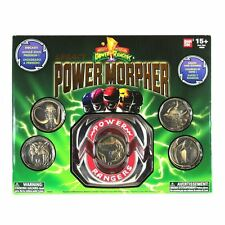 Mighty Morphin Power rangers Legacy morpher with 5 metal coins New sealed