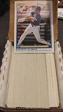 1991 OPC O-Pee-Chee Premier Baseball Complete Base Set 1-132