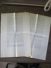 ORIGINAL STEPHEN KING LONG GALLEY PROOFS FOR LORD JOHN PRESS BOOK 1991