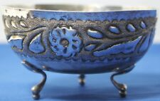 SOLID 835 SILVER FLUTED FOOTED BOWL CENTERPIECE 104 grams # PL-1312