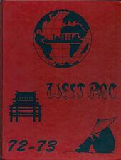 *☆* USS WACCAMAW AO-109 WESTPAC DEPLOYMENT CRUISE BOOK YEAR LOG 1972-73 *☆*