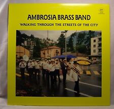 AMBROSIA BRASS BAND Walking Through the Streets of the City Near Mint Jazz LP