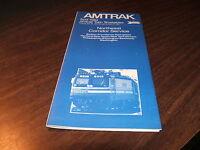 APRIL 1984 AMTRAK NORTHEAST CORRIDOR SERVICES PUBLIC TIMETABLE