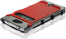 CRKT iNoxCase 360 Red Stainless-Brushed Stainless 360 Lid iPhone 4 & 4S INOX4RX