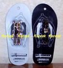 Medicom 2012 Be@rbrick Genbei Hanshin 100% Silver & Black Bearbrick Foot Set 2p