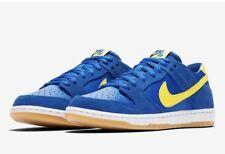 NEW Nike SB Zoom Dunk Low Pro Boca Junior JR Royal Blue 854866-471 Sz 10