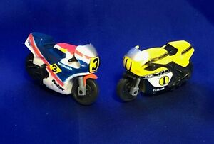 Kenny Roberts & Freddie Spencer 80's motor cycle toy run! With tracking number