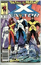 X-Factor #26-1988 fn X-Men X Men Fall Of The Mutants Walt Simonson