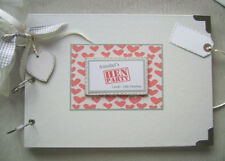 PERSONALISED. HEN party. A4 SIZE..PHOTO ALBUM/SCRAPBOOK/MEMORY BOOK.