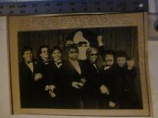 Vintage Wire Press Photo Toto Top Winner At Grammys 2/24/1983