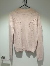 Ice Knit Pink Sweater - sz S