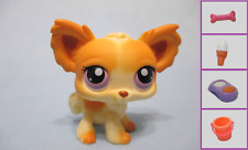 Littlest Pet Shop Dog Chihuahua 96 and Free Accessory Authentic Lps