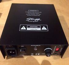Stagg PCO-2ALH PSU fuente de alimentación Phantom de micrófono para micrófono de condensador
