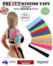 Precut Kinesiology tape Kinesio TAN Skin Colour Sports Care Therapeutic KT