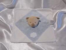 Doudou ours bleu et blanc, nuage, Nattou