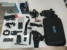 Gopro hero 7 black with accessories -used
