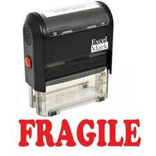 FRAGILE Self Inking Rubber Stamp - Red Ink (42A1539WEB-R), New, Free Shipping