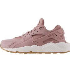 WOMENS NIKE AIR HUARACHE RUN SD SUEDE PARTICLE PINK GUM AA0524-600 Size 8 <NEW>