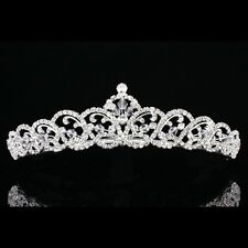Bridal Pageant Rhinestone Crystal Prom Wedding Crown Tiara 6888