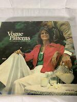 VTG April 1973 Vogue Patterns Hardcover Counter Book Fashion Men Women Catalog