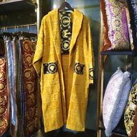 Men Women  Le Vase Luxury Baroque Jacquard Bathrobe Medusa Designer Night Robes