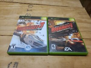 Burnout 3 Takedown & Burnout Revenge (XBOX) Complete Tested & Fast Shipping