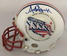 Antowain Smith Signed Super Bowl Authentic Mini-Helmet Autographed Patriots 2002