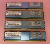 Micron MT36HTF25672FY-667D1N6 398707-051 8GB 4x2GB PC2-5300 DDR2 ECC CL5 240P