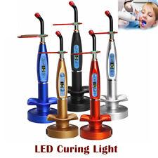 Dental LED Cure Lamp Wireless Cordless 5W 2000mW Curing Light Lamp Tools EU Plug