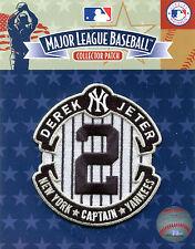 2014 DEREK JETER NEW YORK YANKEES RETIREMENT OFFICIAL MLB BASEBALL PATCH