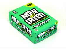Now & Later Original  Chews Candy, Watermelon, 0.93 Ounce Bar, Pack of 24