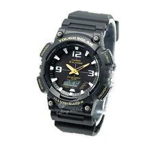 -Casio AQS810W-1B Analog Digital Tough Solar Watch Brand New & 100% Authentic