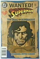 WANTED! SUPERMAN IN ACTION COMICS THE TRIAL OF SUPERMAN #717 DC 1996