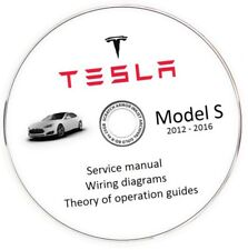 Tesla Model S 2012-2016 Service Manual + Wiring Diagram