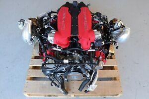 Ferrari 488 GTB F154CB 3.9L Complete Twin Turbo Engine Motor J159
