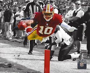 ROBERT GRIFFIN III 8X10 PHOTO WASHINGTON REDSKINS NFL FOOTBALL TOUCHDOWN