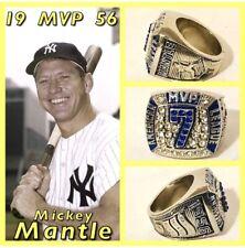 New York Yankees Mickey Mantle 1956 MVP Ring Size 11