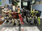 Transformers - Lot of 4 Misc - Headmasters - Action Figures USED - Reprolabels