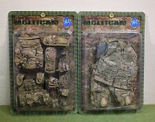 Dragon Dreams 1/6 Modern US cardées ARMY EQUIPMENT Multicam E60055 & E60056