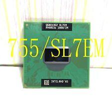 Intel Pentium M 755 (SL7EM) 2.00GHz / 2MB / FSB 400MHz Notebook Processor