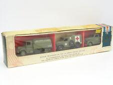 LLEDO 1/55 - Coffret Dodge - 1 Ton - Petrol Tanker US Army Militaire 50e Anniv