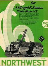 1929 Northwest Engineering Ad: A. Riegel & Sons Contr. White Plains, New York