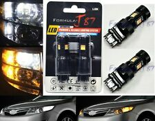 LED Switchback Light 3030 White Amber Orange 4157 Two Bulb Front Signal DRL Lamp