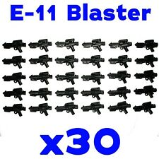 LEGO Star Wars Guns E-11 30 Pack First Order Stormtrooper Blaster Rifle Weapons