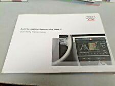 2005 AUDI Navigation System plus RNS-E  Original Factory Owners Manual NOS