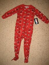 Miami Heat NBA Basketball Baby Toddler Boys Romper Footed Pajamas 12 Months 1T