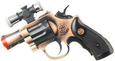 .357 Magnum Gun Revolver Shaped Jet Torch Lighter with USA Legal Red Laser