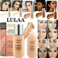 LULAA Velvet Foundation Full Cover Waterproof Professional Matte Base Makeup
